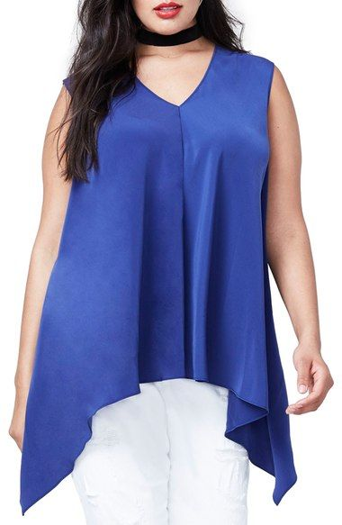 4fa7116f7dd59 Rachel Roy Side Drape Top (Plus Size) available at  Nordstrom