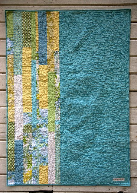 Aqua Diamonds Back Yellow Quilts Backing A Quilt Quilts