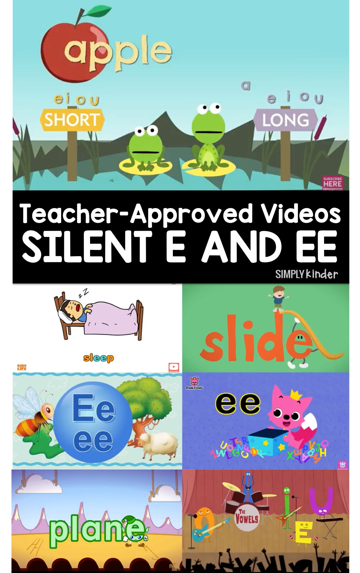 Teacher Approved Silent E And Double E Videos