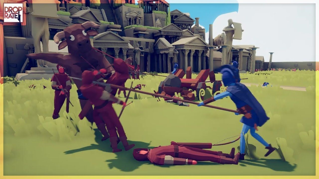 First Look Totally Accurate Battle Simulator By Landfall