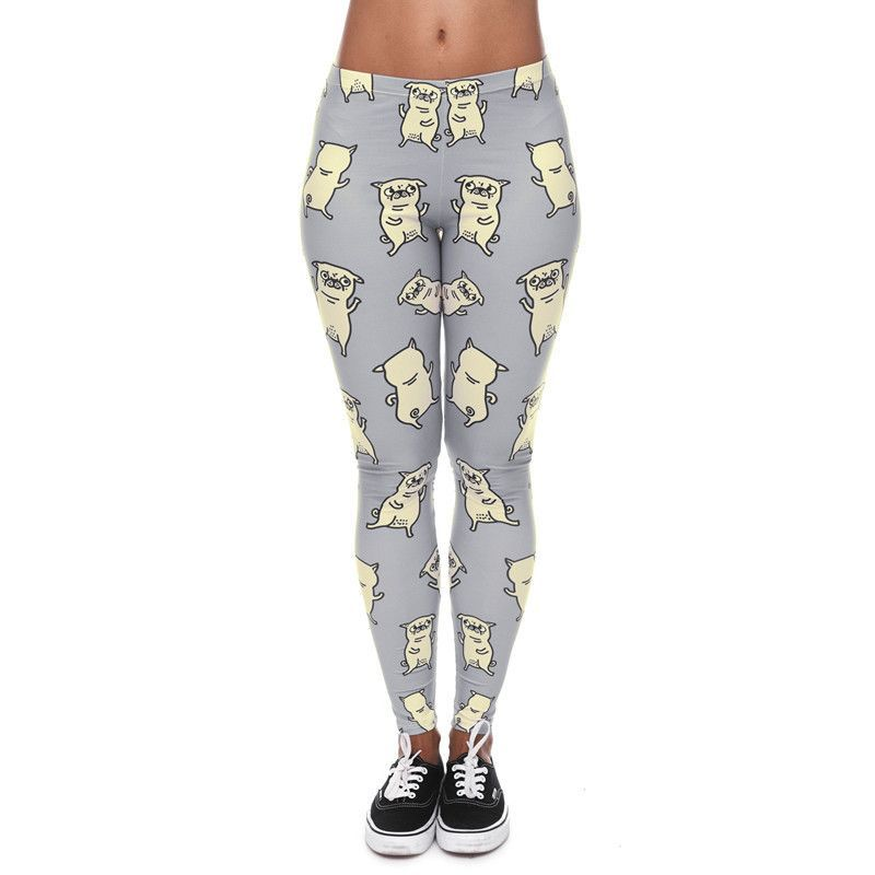 High Elasticity Egyptian Cat/Unicorn/Dog Leggings