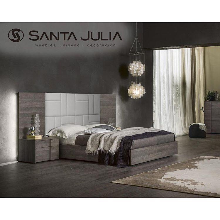 Cama Gaia| hermosa cama en madera roble de poro abierto, cabecero ...