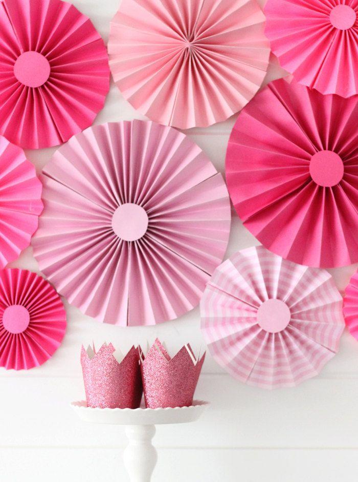 Paper Fan Backdrop Paper Rosettes Paper Fans Mint Paper Fan Mint Fan Paper Pinwheels Baby Shower Decorations Wedding Backdrop