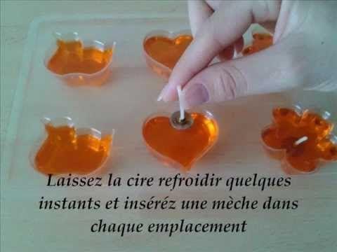 Comment Faire Des Bougies Flottantes Video Cr Ativit Pinterest Diy Candles And Craft