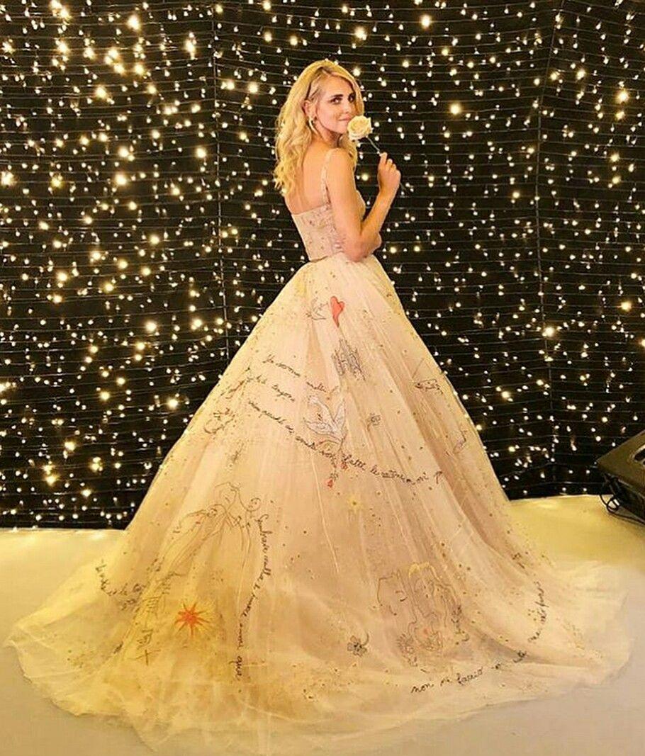 408a1852b4f Chiara Ferragni and Fedez wedding wearing a Dior gown
