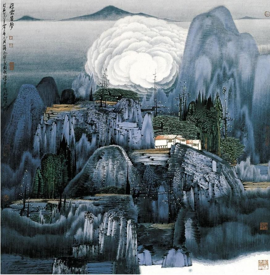 Chinese Painting Art Wallpaper Archive Hanging Pictures Popular Drawings Landscape Designs