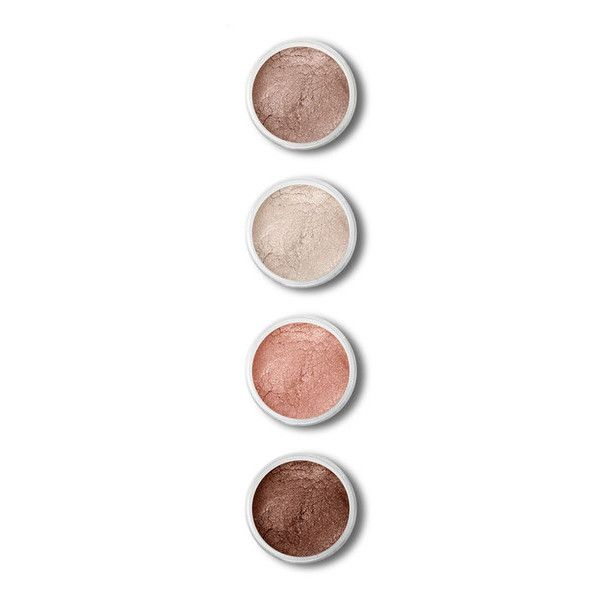 Terre Mere Sand Shadows Nude Eyes Set featuring polyvore, beauty products, makeup, eye makeup, eyeshadow, fillers, beauty and cosmetics