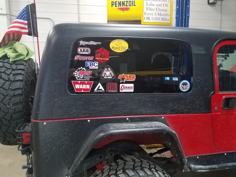 Show Me Your Stickers Jeep Wrangler Tj Forum Jeep Wrangler Tj Jeep Life Jeep