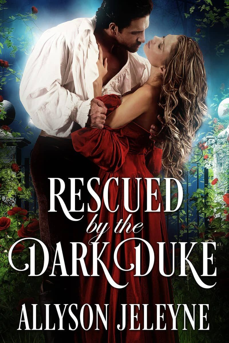 Cover for Rescued By The Dark Duke Historical romance