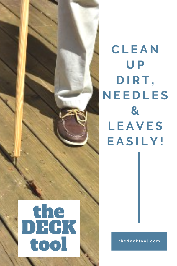 All In One Cleaning Tool For Your Deck