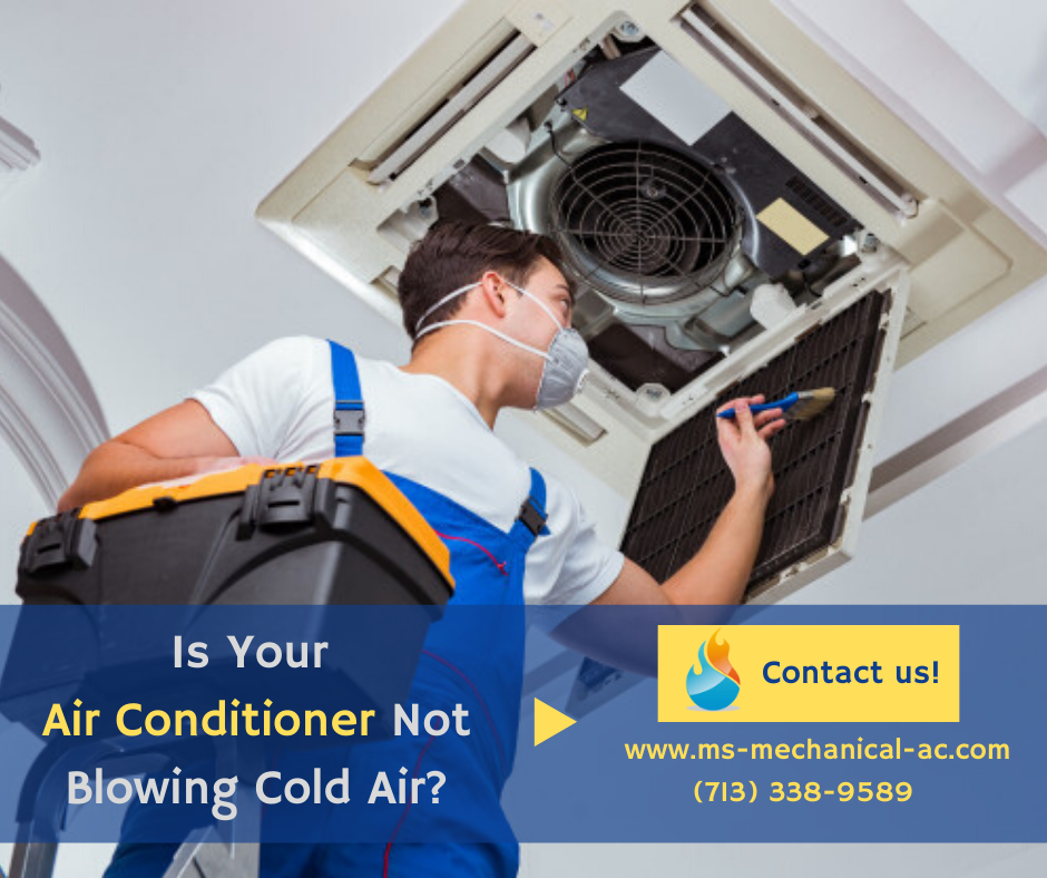 Is Your Air Conditioner Not Blowing Cold Air Well Your Ac Is Not