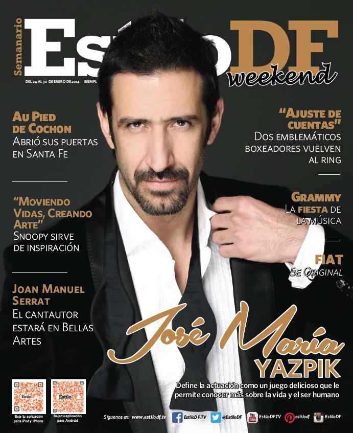 José María Yazpik 24 de enero 2014
