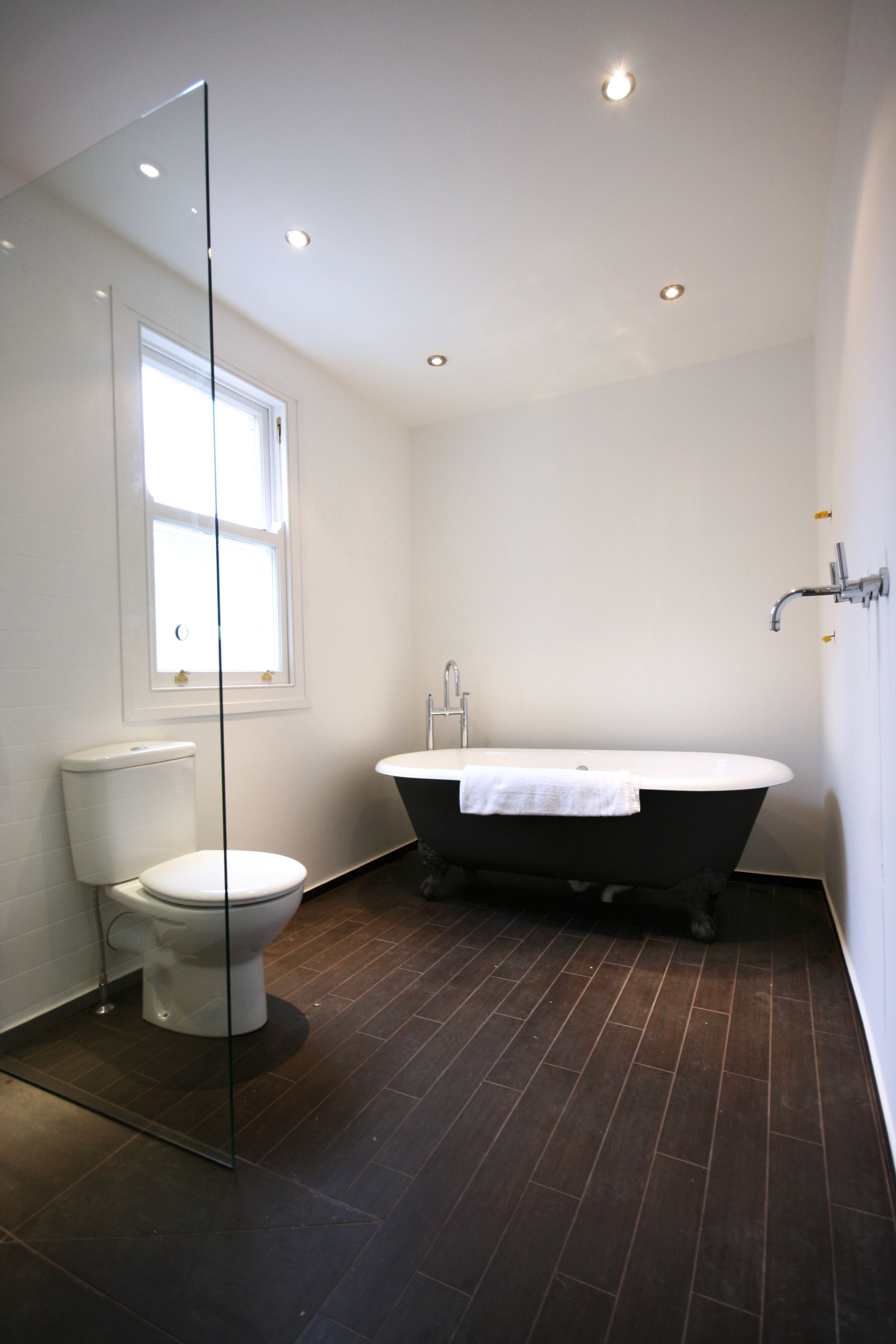 Traditional Bathroom Wet Room With Roll Top Bath For A Free Consultation Call