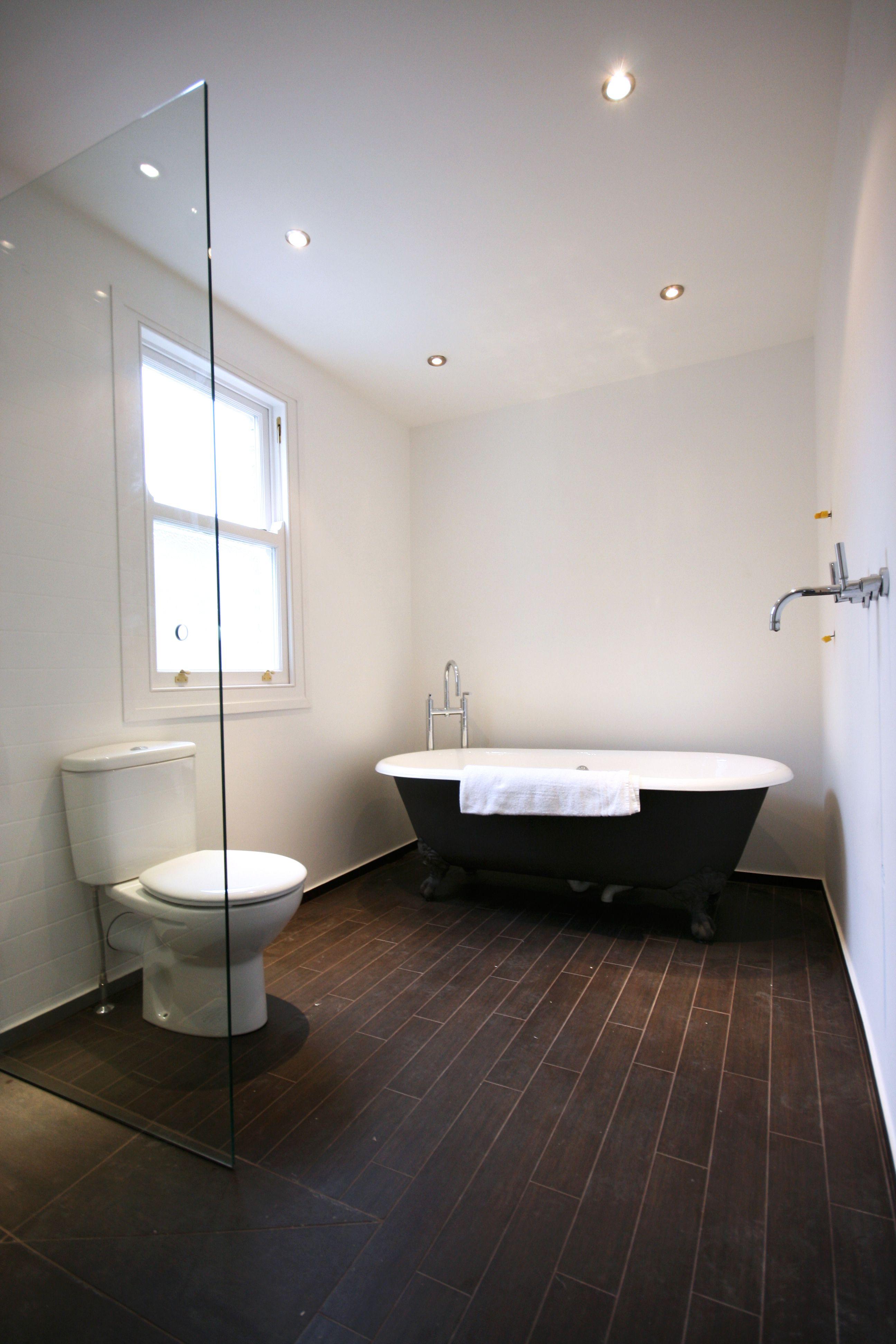 Traditional Bathroom  Wet Room With Roll Top Bathfor A Free Extraordinary Top Bathroom Designs Inspiration