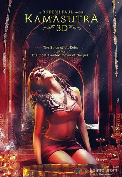 Sherlyn Chopra In A Kamasutra 3d Movie Poster Pic 1