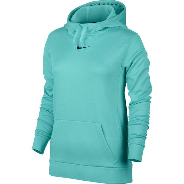 2fd66ec2a832 Women s Nike Therma Training Pullover Hoodie ( 50) ❤ liked on Polyvore  featuring activewear