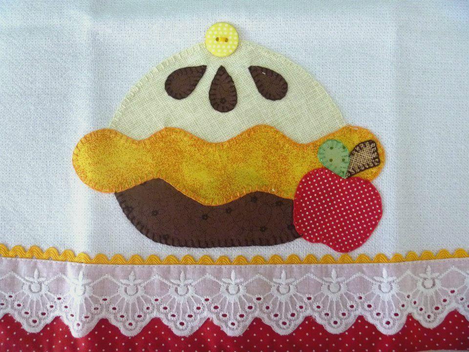 Uma tortinha | Toallero para cocina | Pinterest | Patchwork