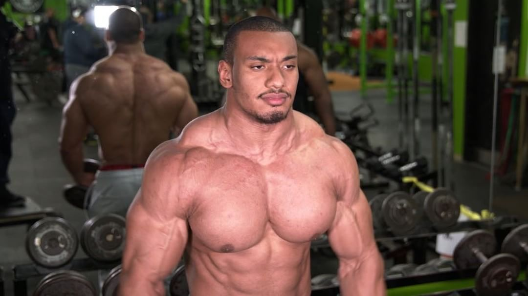 242/275LB World Record Powerlifter Larry Wheels Williams Looking