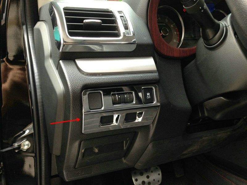 For Subaru Forester 2013 2014 Head Light Adjustment Control Trim