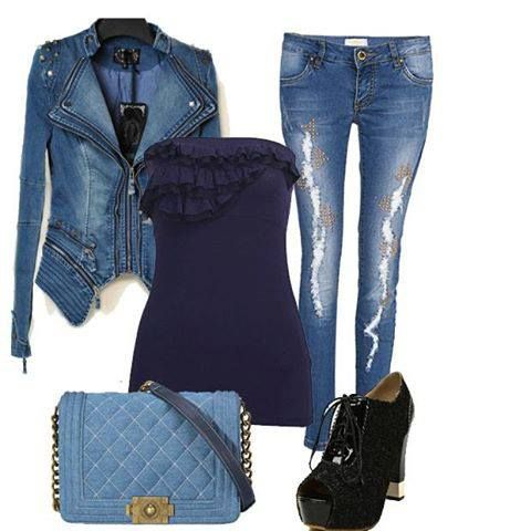 Would you wear this trendy outfit?