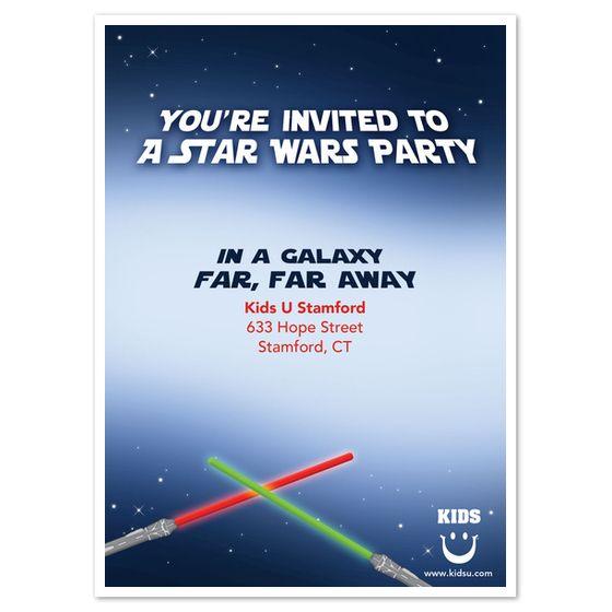 Star Wars Birthday Invitations Ecards