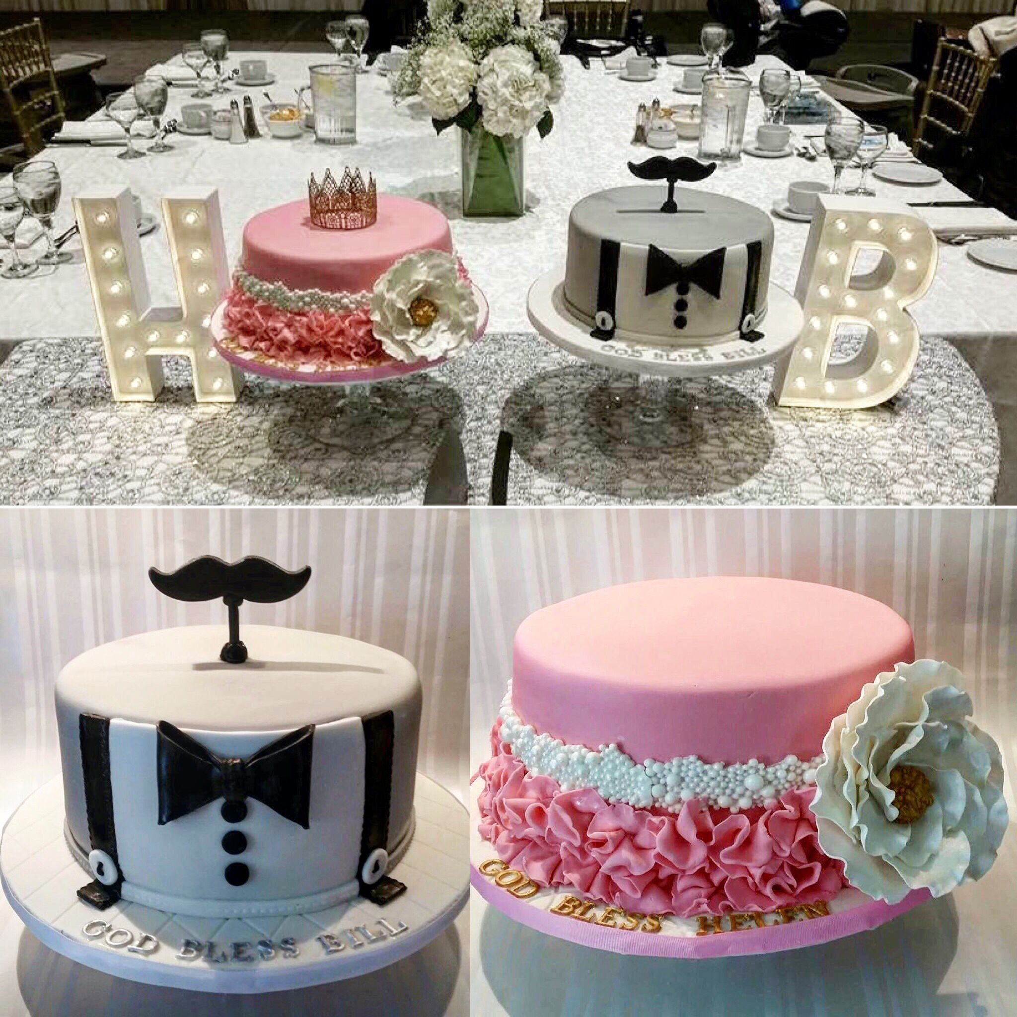 Despina Created Beautiful Cakes For A Christening