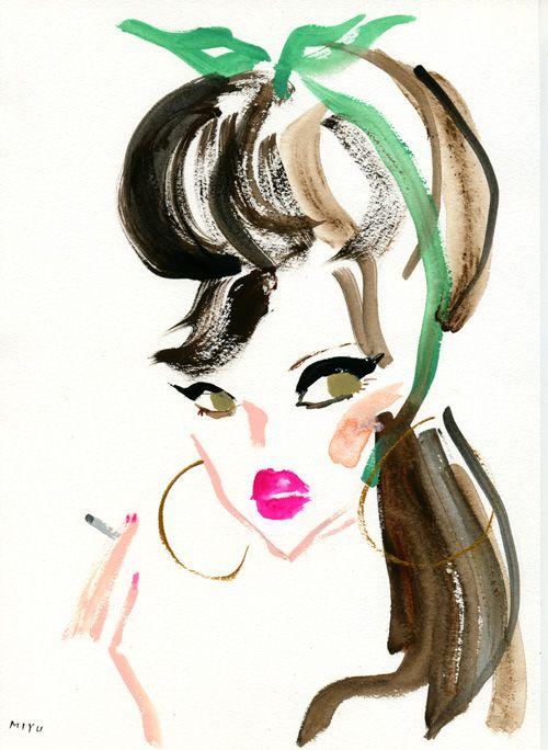 """""""Homage to Amy Winehouse"""" フォトグラファー Bo Brinkenfalkによる、エイミー・ワインハウスとジャンニ・ヴェルサーチへのオマージュ。衣装は、「Versace for H&M」のコレクションより。"""