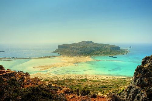 Bay of Balos, Creta, Grecia