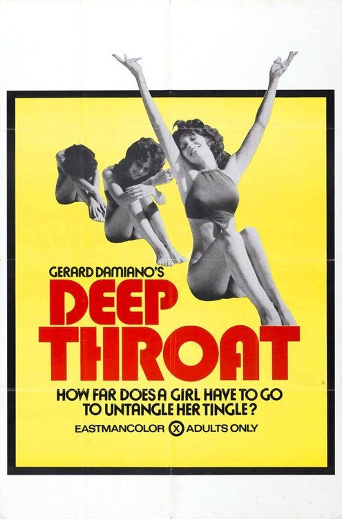 The porn movie deep throat