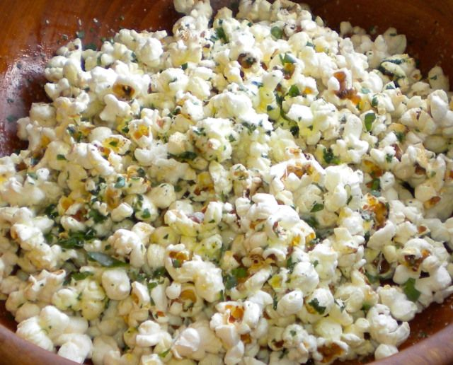 Parmesan Popcorn -- snack idea while on the Dr. Phil Diet ...