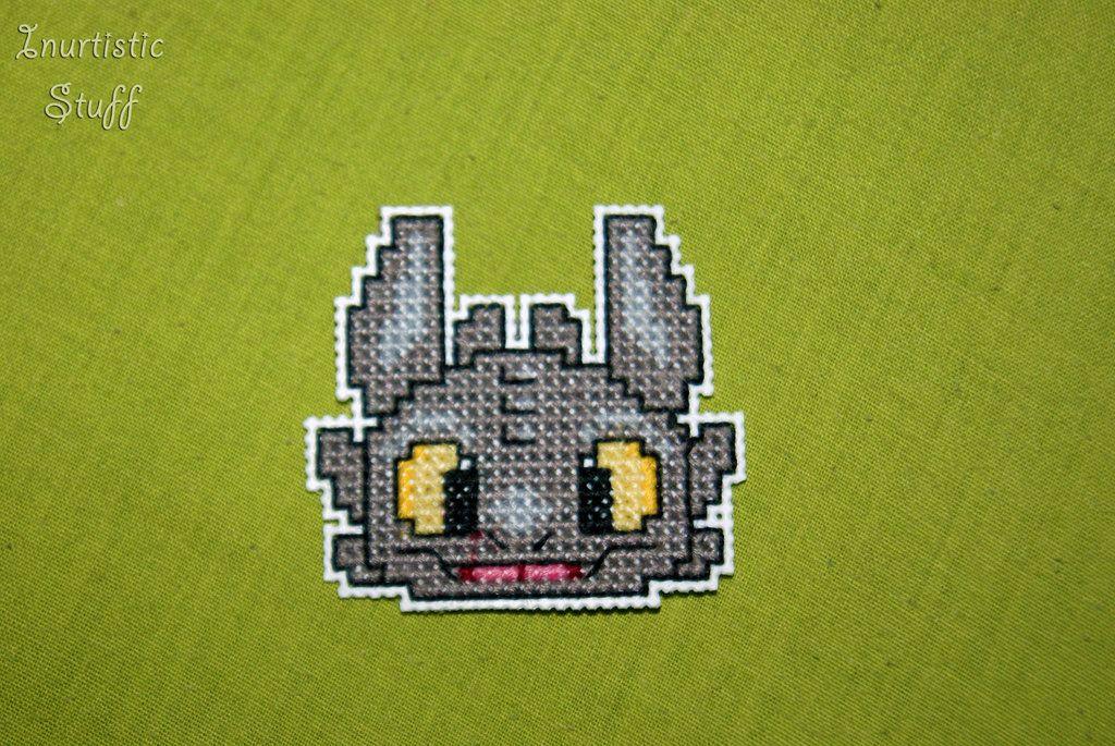 how to make a cross stitch pattern