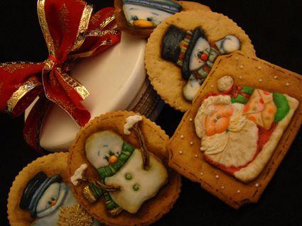 https://flic.kr/p/8FNuWp | Bolachas decoradas de Natal - 2010 | www.veramadeira.blogspot.com   Para cursos de Bolachas acessem :  www.cursosveramadeira.blogspot.com