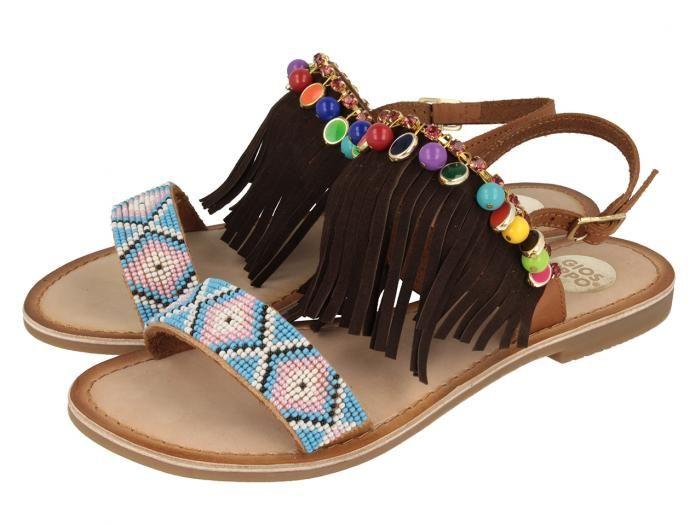 Zapatos negros étnicos para mujer 2kAapub