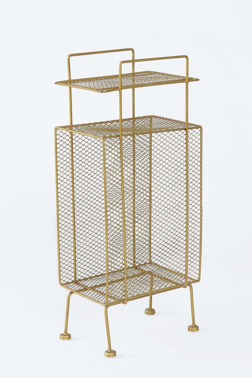 Kleines Regal In Gold Storage Rack Storage