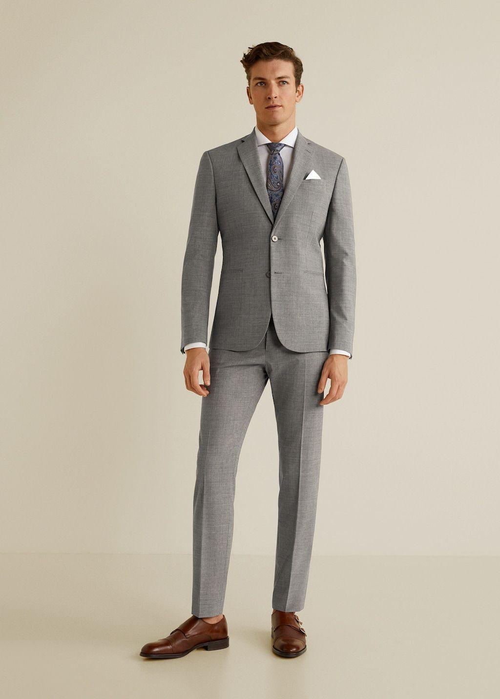 266df3e619 Slim-fit travel suit blazer - Man in 2019