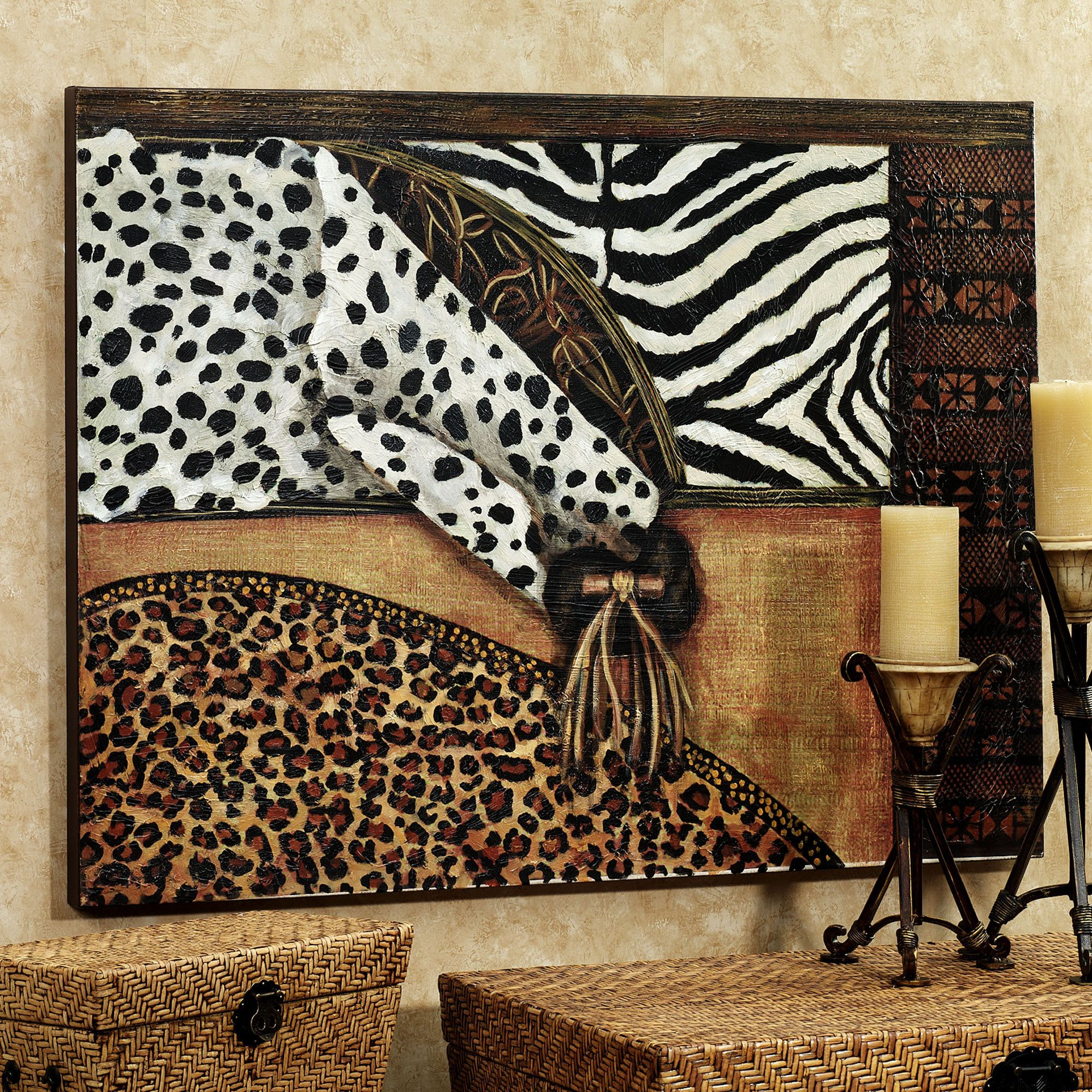 Out Of Africa Canvas Art