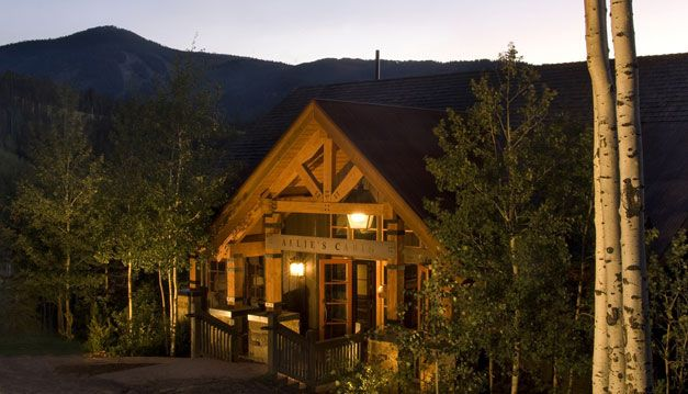 Beaver Creek Reception Wedding Venues Allie S Cabin Iconic