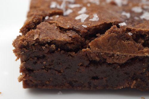 Salted Fudge brownie