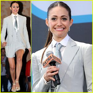 Emmy Rossum: 'Shameless' at Comic-Con!