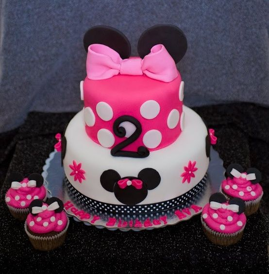 Character Themed Toddler Birthday Party Ideas Minnie Mouse