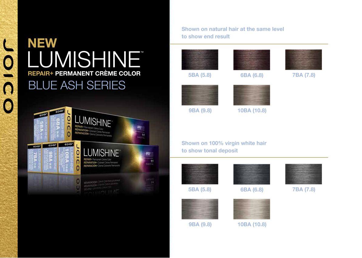 joico lumishine blue ash series