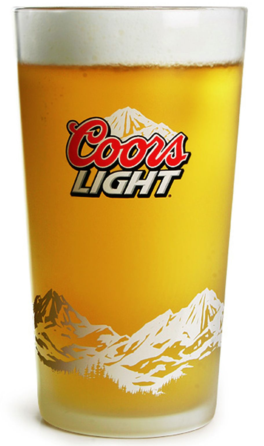 Coors Light Glass (Box of 24) | Coors light, Glass boxes, Coors