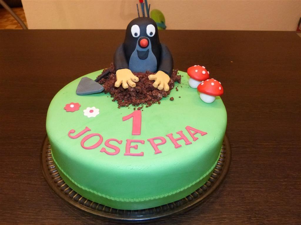 Der Kleine Maulwurf Pauli Geburtstagstorte Geburtstagskuchen Kuchen