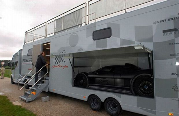 Wheels Of Fortune 10 Awesome Rvsmotorhome Futuria Luxury