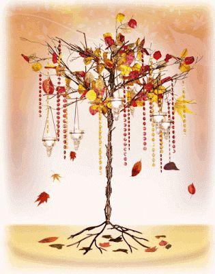 Fall Branch centerpiece
