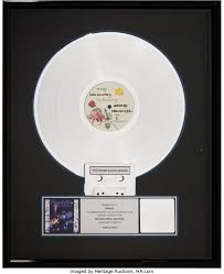 Prince And The Revolution Purple Rain Riaa Platinum Record Sales Lot 89725 Heritage Auctions In 2021 Prince And The Revolution Purple Rain Records