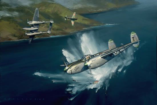 Victory Over Tanamerah Bay by Jack Fellows