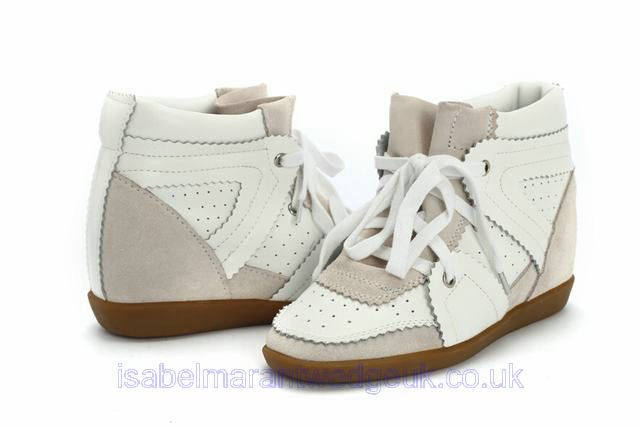 Betty concealed-wedge suede trainers Isabel Marant oIE61x