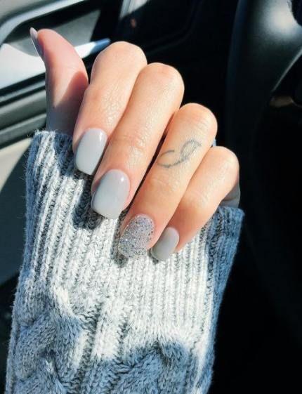 19+ Trendy nails short sns