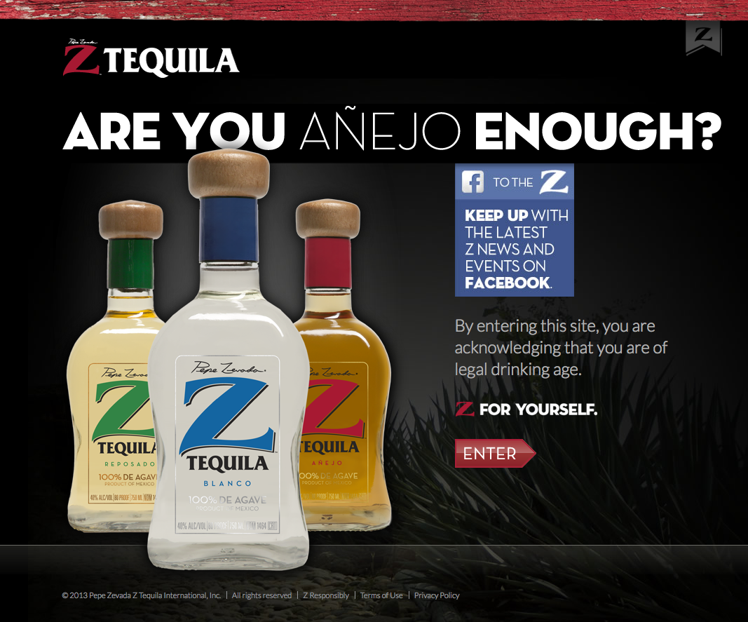 Current Branding With Images Legal Drinking Age Anejo Tequila